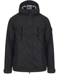 Stone Island - Side Chest Pocket Hoody Jacket - Lyst