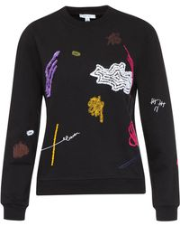 Carven - Multicolor Embroidered Sweatshirt - Lyst