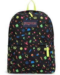 Jansport - Superbreak Neoncharmedlife/neon Charmed - Lyst