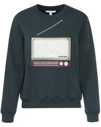 Carven - Television Embroidered Sweatshirt - Lyst
