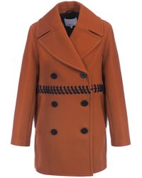 3.1 Phillip Lim - Peacoat W/ Laced Bodice - Lyst