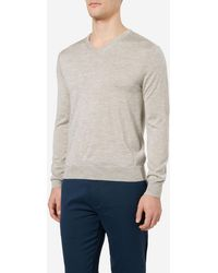 N.Peal Cashmere - The Conduit Fine Gauge Sweater - Lyst