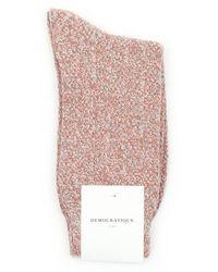 Democratique Socks - Bubble Line Knit - Lyst