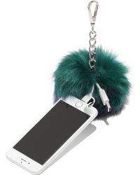 New York & Company - Pom-pom Charging Keychain - Lyst