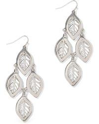 New York & Company - Four-leaf Drop Earring - Lyst