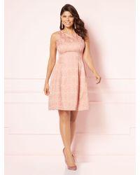 New York & Company - Eva Mendes Collection - Maria Jacquard Dress - Lyst