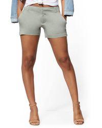 f2f1f3b3e8 New York   Company - 4 Inch Hampton Short - Soho Jeans - Lyst