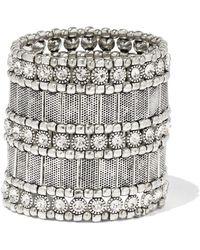 New York & Company - Shimmering Stretch Bracelet - Lyst