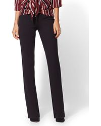 New York & Company - Petite Bootcut Pull-on Pant - Signature - Ponte - 7th Avenue - Lyst