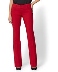 New York & Company - 7th Avenue Pant - Tall Barely Bootcut - Modern - All-season Stretch - Lyst
