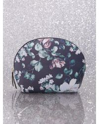 New York & Company - Floral Cosmetic Bag - Lyst