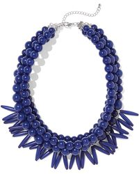 New York & Company - Beaded Statement Necklace - Lyst
