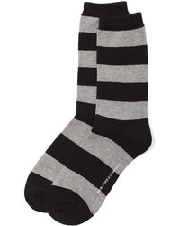 New York & Company - Rugby-stripe Crew Sock - Lyst