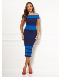 New York & Company - Eva Mendes Collection - Tall Chantelle Sweater Dress - Lyst