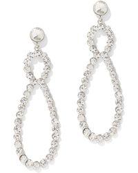 New York & Company - Glittering Teardrop Statement Earring - Lyst