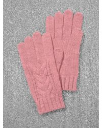 New York & Company - Cable-knit Gloves - Lyst