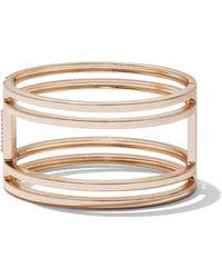 New York & Company - Goldtone Open Cuff Bracelet - Lyst