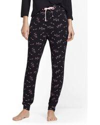 "New York & Company - Black ""beauty Sleep"" Pajama Pant - Lyst"