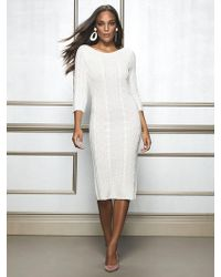 New York & Company - Calina Sweater Dress - Eva Mendes Collection - Lyst