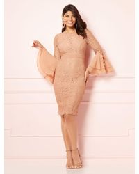 New York & Company - Eva Mendes Collection - Seraphina Lace Sheath Dress - Lyst