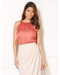 New York & Company - Eva Mendes Collection - Jess Tassel Top - Lyst