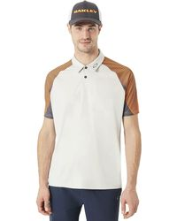 Oakley - Aero Motion Sleeve Polo - Lyst