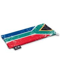 ddd6272991 Lyst - Oakley Microcleartm Cleaning storage Bag - Italy Flag in Red ...