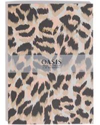 Oasis - Leopard A5 Notebooks - Lyst