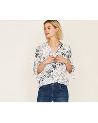 Oasis - Provence Trailing Ditsy Shirt - Lyst
