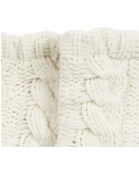 Oasis - Luxe Cosy Sock - Off White - Lyst