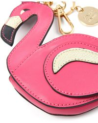 Oasis - Leather Flamingo Coin Purse - Lyst