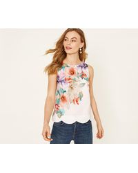Oasis - Fitzwilliam Shell Top - Lyst