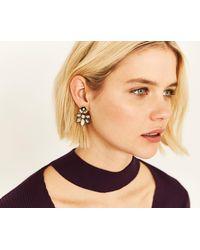 Oasis - Flower Drop Earring - Lyst