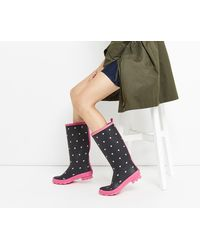 Oasis - Half-hearted Wellington Boots - Lyst