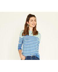 Oasis - Coloured Breton Stripe Sweat - Lyst
