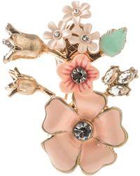 Oasis - Flower Brooch - Lyst