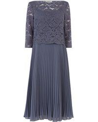 Oasis Lace Top Midi Dress
