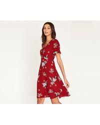 Oasis - Long Havana Tea Dress - Lyst