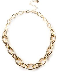 Oasis - Chunky Chain Necklace - Lyst
