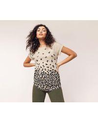 Oasis - Multi Animal Roll Sleeve T-shirts - Lyst