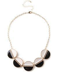 Oasis - Monochrome Necklace - Lyst