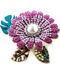 Oasis - Luminosity Statement Brooch - Lyst