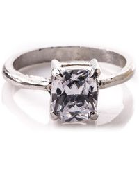 Oasis - Solitaire Ring - Lyst