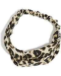 Oasis - Animal Hair Scarf - Lyst