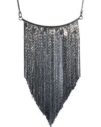 Oasis | Graduated Tassel Necklace | Lyst