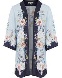 Oasis - Curve Floral Kimono - Lyst