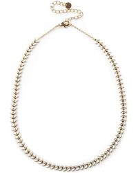 Oasis - Enamel Short Necklace - Lyst