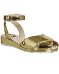 Miss L-fire - Harlow Wedge Sandals - Lyst