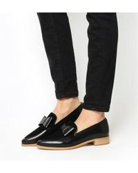 Office - Frontline- Pointed Bow Loafer - Lyst