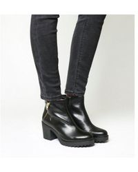 ed492bbd Vagabond Grace Side Zip Boots in Black - Lyst